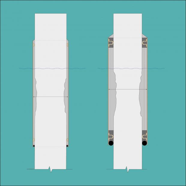 Reparationsmuligheder baseret på sektionstab