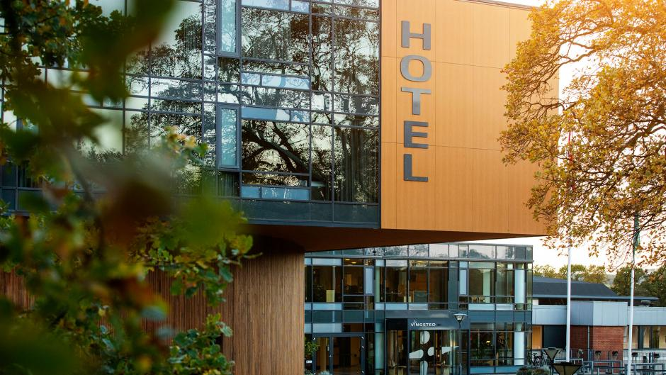 Vingsted hotelfacade