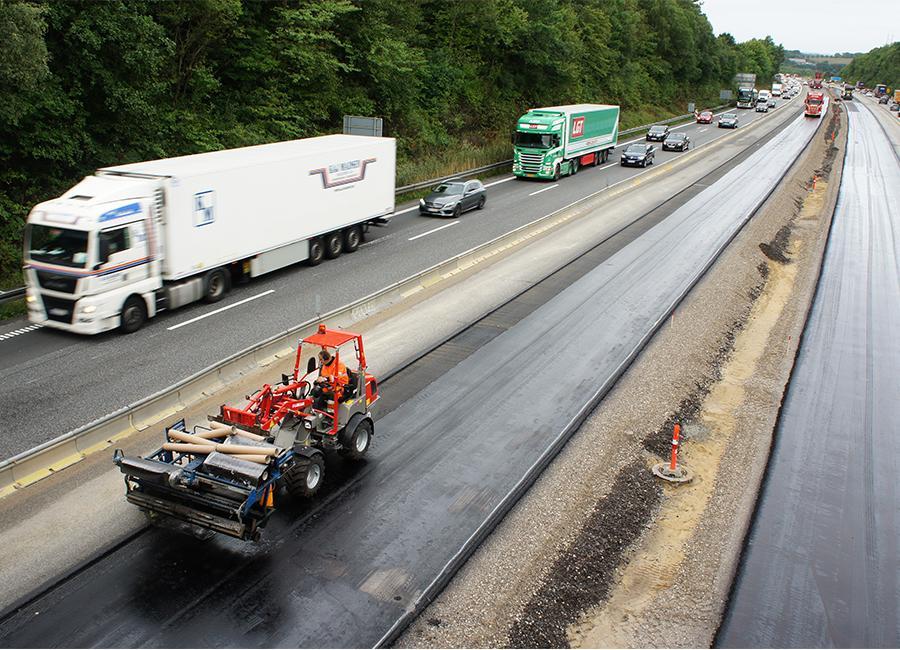 Forstækning af motorvej E45 fra Skanderborg til Århus